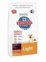 Hill's SP Canine Adult Light Large Breed Chicken 3 x 12kg