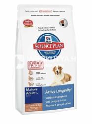 Hill's SP Canine Mature Adult 7+ Active Longevity Lamb & Rice 3 x 12kg