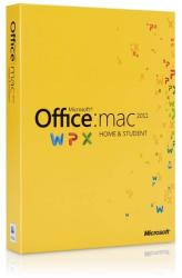 Microsoft Office:mac Home & Student 2011 ENG GZA-00269
