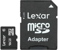 Lexar MicroSDHC 16GB Class 10 LSDMI16GABEUC10A