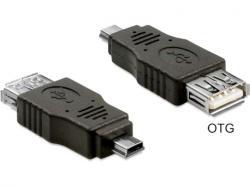 Delock USB Mini-USB 2.0 Converter M/F 65399