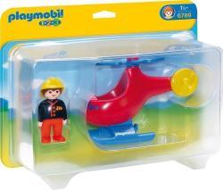 Playmobil Az első tűzoltóhelikopterem (6789)