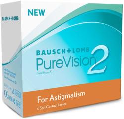 Bausch & Lomb Pure Vision 2 HD Astigmatism - 6 Buc - Lunar