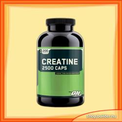 Optimum Nutrition Creatine 2500 Caps - 200 caps