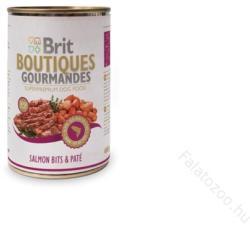 Brit Boutiques Gourmandes Salmon Bits & Paté 12 x 400g