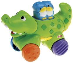 Fisher-Price Gurulós állatkák - Krokodil (N8160/N8161)