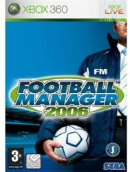SEGA Football Manager 2006 (Xbox 360)