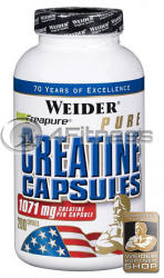 Weider Pure Creatine - 200 caps