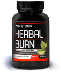 Pure Nutrition Herbal Burn - 120 caps