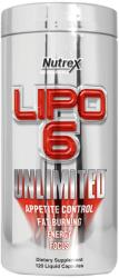 Nutrex Lipo 6 Unlimited - 120 caps