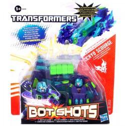 Hasbro Transformers Bot Shots mini átalakuló robotok - Cryo Scourge kilövővel