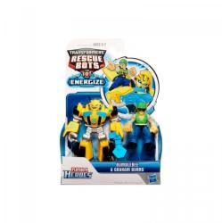 Hasbro Transformers - Rescue Bots - mini robotok - Bumblebee és Graham Burns