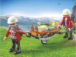 Playmobil Hegyimentők kerekes hordággyal (5430)