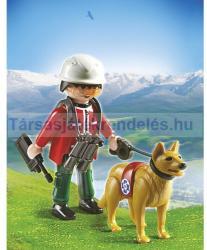 Playmobil Hegyimentő keresőkutyával (5431)
