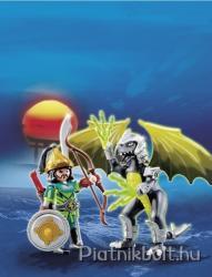 Playmobil Szélföld harcosa és sárkánya (5465)