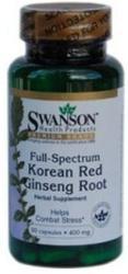 Swanson Koreai Ginzeng gyökér kapszula - 90 db
