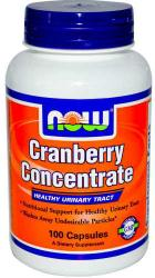 NOW Cranberry Concentrate tőzegáfonya kapszula - 100db