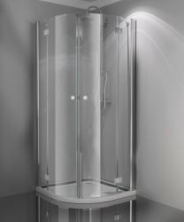 Sanotechnik Smartflex 100x100x195 cm íves (D22100)