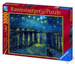 Ravensburger Van Gogh: Csillagos éj a Rhone fölött 1000 db-os (15614)