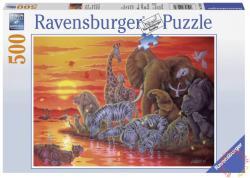 Ravensburger Naplemente Afrikában 500 db-os (14288)