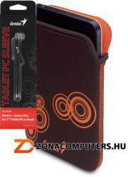 "Genius GS-701P Sleeve 7"" & Stylus - Brown/Orange"