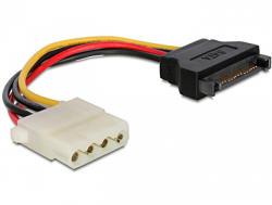 Delock SATA 15pin-4pin Molex Converter M/F 60115