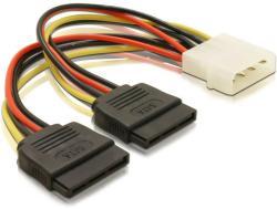 Delock SATA HDD 2x-Molex 4pin Converter 60102