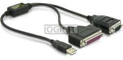 Delock USB-Serial+Paralell Converter 61516