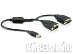 Delock USB-2x Serial Converter 61517