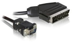 Delock SCART-VGA Cable 2m 65028