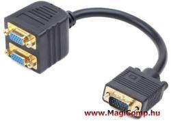 Delock VGA-2xVGA M/F 65060