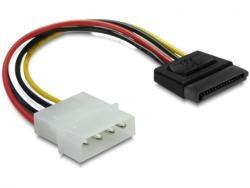 Delock Molex-SATA Converter M/M 15cm 60100