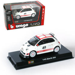 Bburago Racing - Fiat Abarth 500 1:43