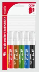 ICO Artip 12 Flipchart Marker 1-4mm 6 Különböző Szín (TICA12V6)