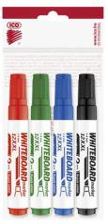 ICO Plan 12 XXL Flipchart Marker 1-4mm 4 Különböző Szín (TICPL12XV4)