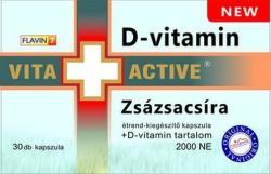 Vita+Active Zsázsacsíra kapszula - 30db