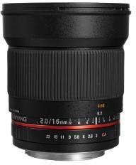 Samyang 16mm f/2 (Pentax)