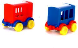 Wader Személyszállító vonatkocsi fiús színekben