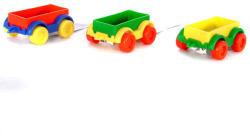 Wader Teherszállító vonatkocsi fiús színekben