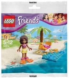 LEGO Friends Andrea tengerparti pihenője 30114