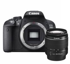 Canon EOS 700D + 18-55mm DC III + 75-300mm DC III
