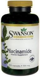 Swanson Niacinamide B3-vitamin kapszula - 250 db