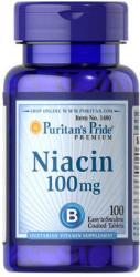 Puritan's Pride Niacin B3-vitamin tabletta - 100 db