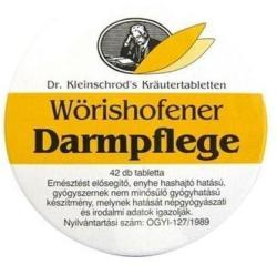 Wörishofener Darmpflege emésztést elősegítő tabletta - 42db