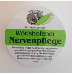 Wörishofener Nervenpflege macskagyökér nyugtató tabletta - 120db