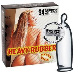 Secura Heavy Rubber - 24db