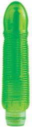 Pipedream Juicy Jewels - Garnet - vízálló bordázott vibrátor - zöld