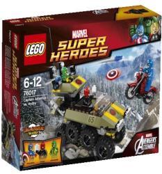 LEGO Marvel Super Heroes - Amerika Kapitány Hydra ellen (76017)