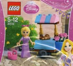 LEGO Friends - Disney Princess - Aranyhaj látogatása a piacon (30116)
