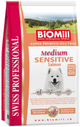 Biomill Swiss Professional Medium Sensitive salmon & rice 2 x 12kg